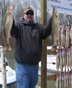 fishing walleye charter